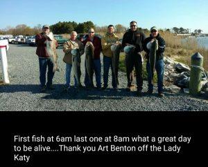 April Striped Bass Fishing