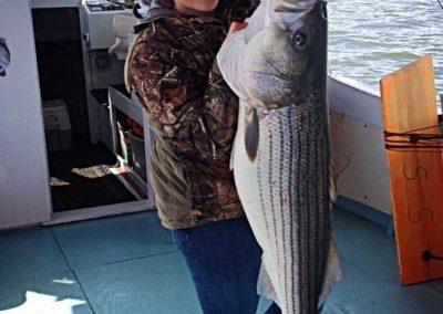 Islander Striped Bass Fishing