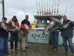 Stormy Striper Fishing