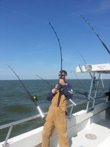 Striper Fishing Experience