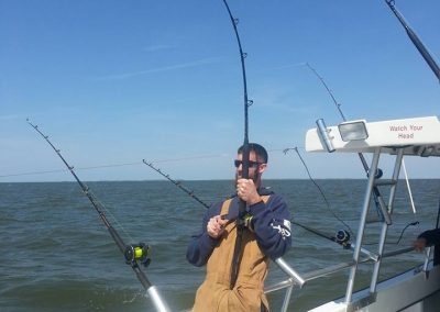 Striper Fishing Experience