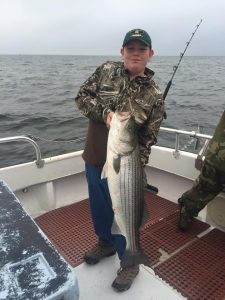 Worn Down Striper Fishing